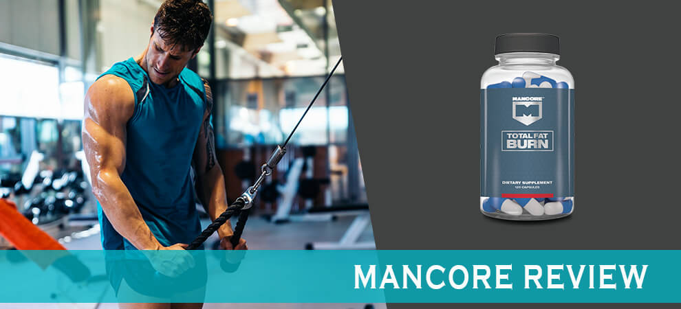 Fit man training in the gym