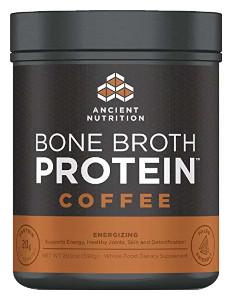 Ancient Nutrition - Energizing Caffeine Bone Broth Protein