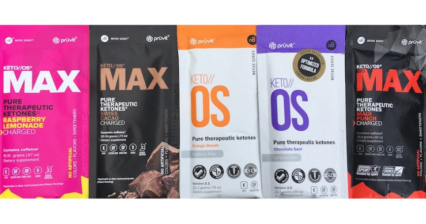 Keto OS Max line of products