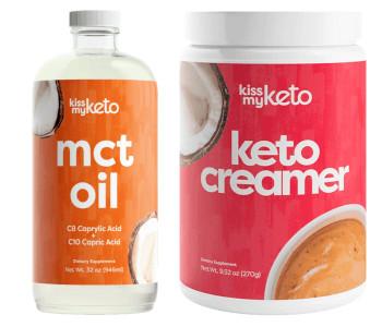 Kiss My Keto Oil and Creamer