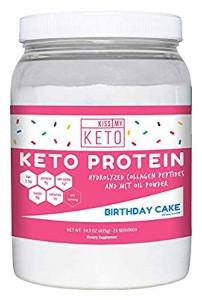 Kiss My Keto - Protein Powder Birthday Cake Edition
