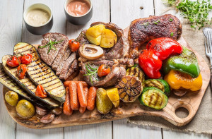 Various natural foods