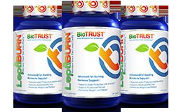 three bottles of nutrition caplets