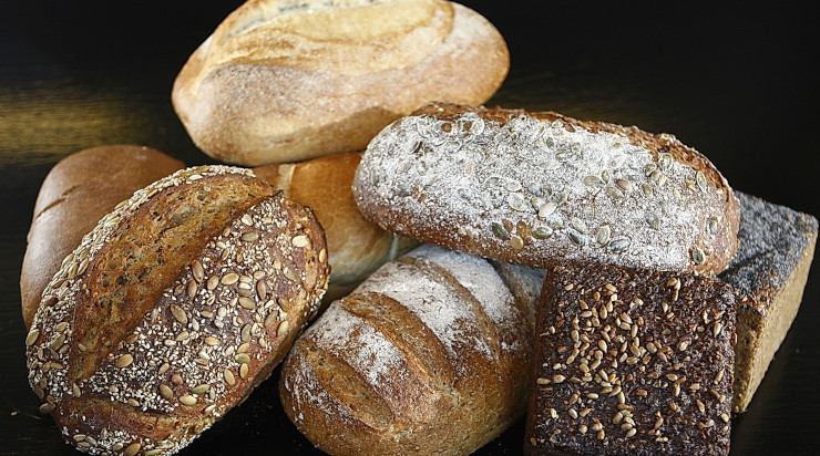 A variety of wheat bread