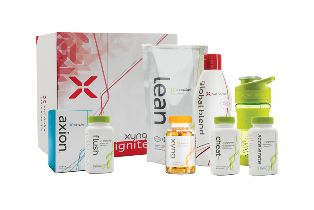 A whole set of products for wellness